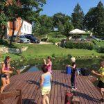 Fitness tábor - fitness edzés a Tószínpadon mesés környezetben