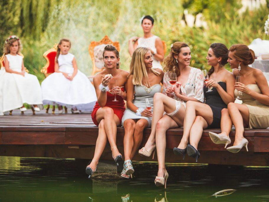 Esküvő a Tószínpadon - hölgykoszorú