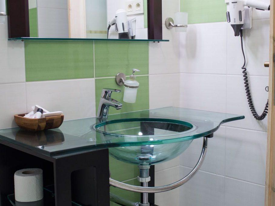 City apartman fürdőszoba