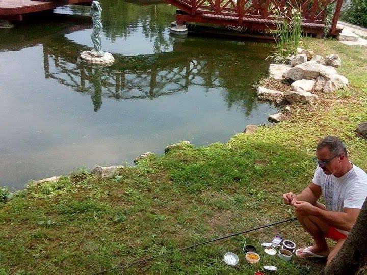 Horgászat a tavon
