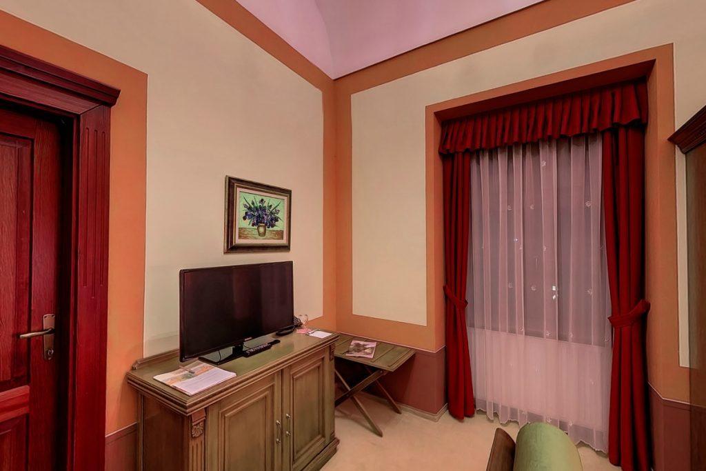 Kastély lakosztály nappalija