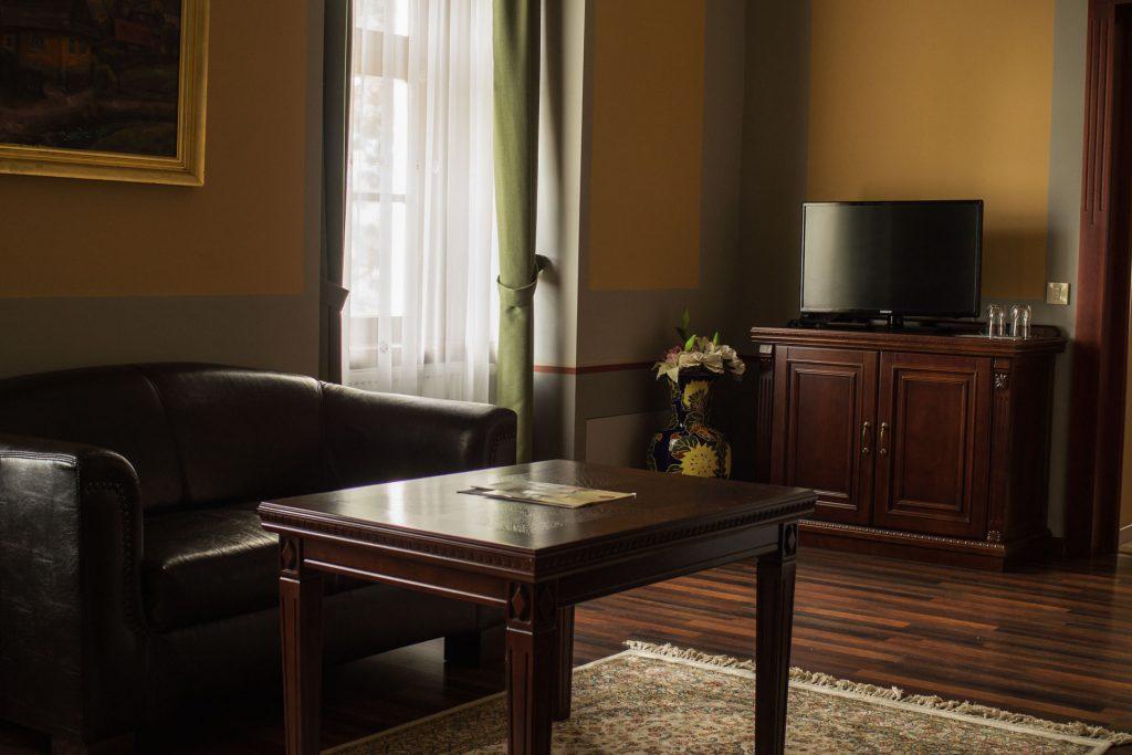 Kastély lakosztály nappali 2