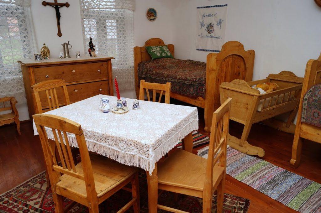 Tájház hálószoba