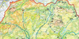 Hernádvécse és közeli látnivalók térképe